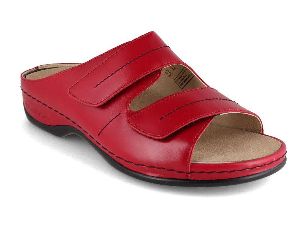 BERKEMANN Berkoflex Sandal   Daria, Wine Red