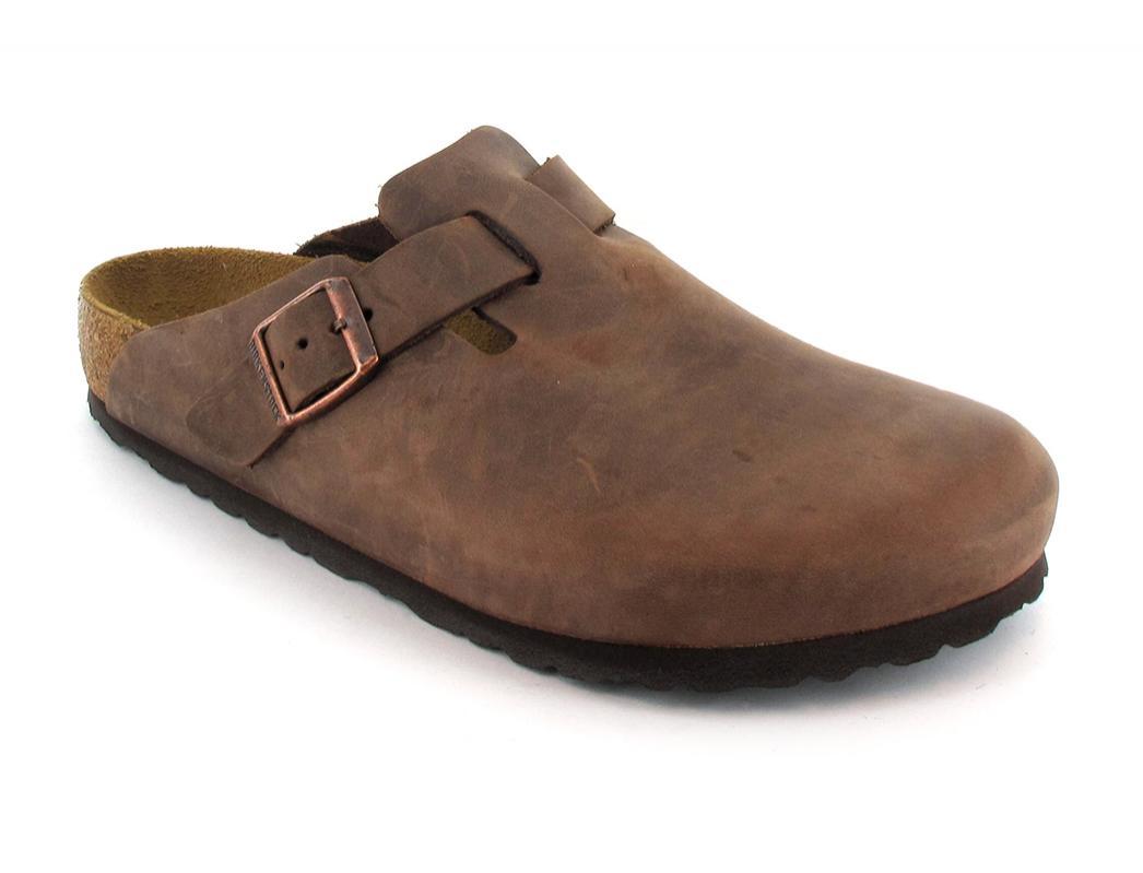 ❤ BIRKENSTOCK® Boston Leather Sandals