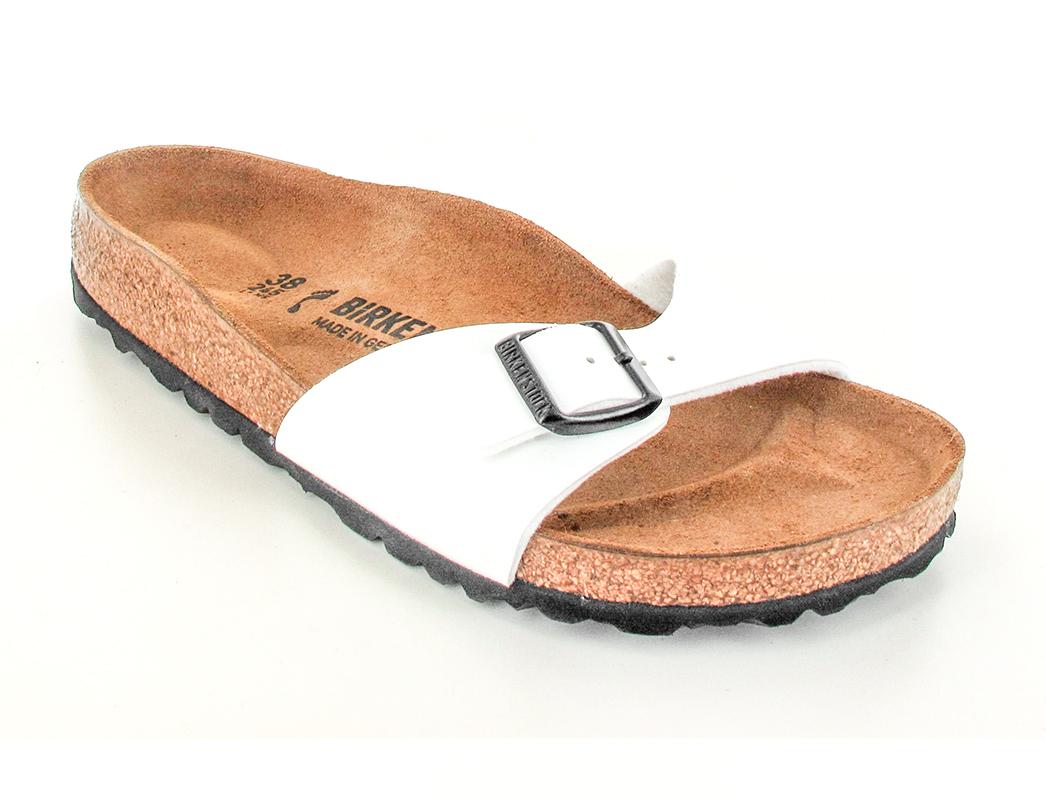 37332a05e7d ❤ BIRKENSTOCK®   Sandal Madrid, White   Free Shipping