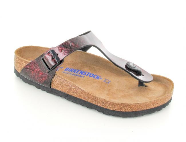 a5bf3e43d ❤ BIRKENSTOCK® Gizeh Women Thong Sandals | Iride Strong Red