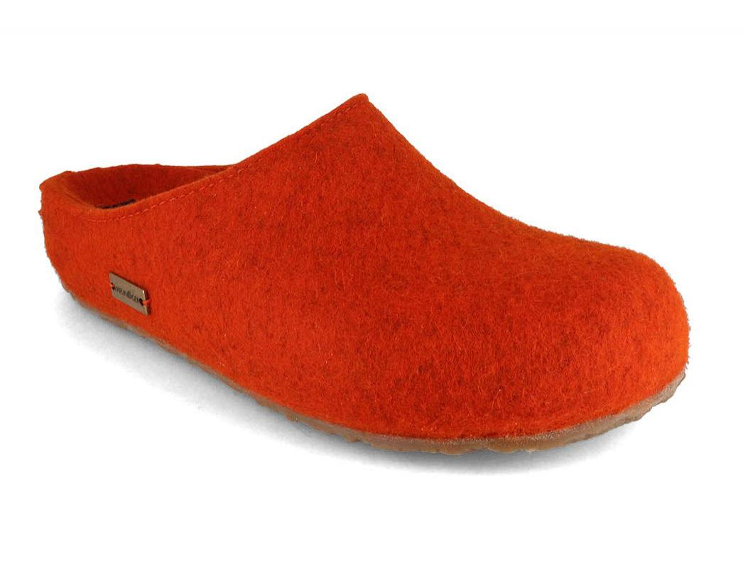 HAFLINGER Clog   Grizzly Michel, Rust