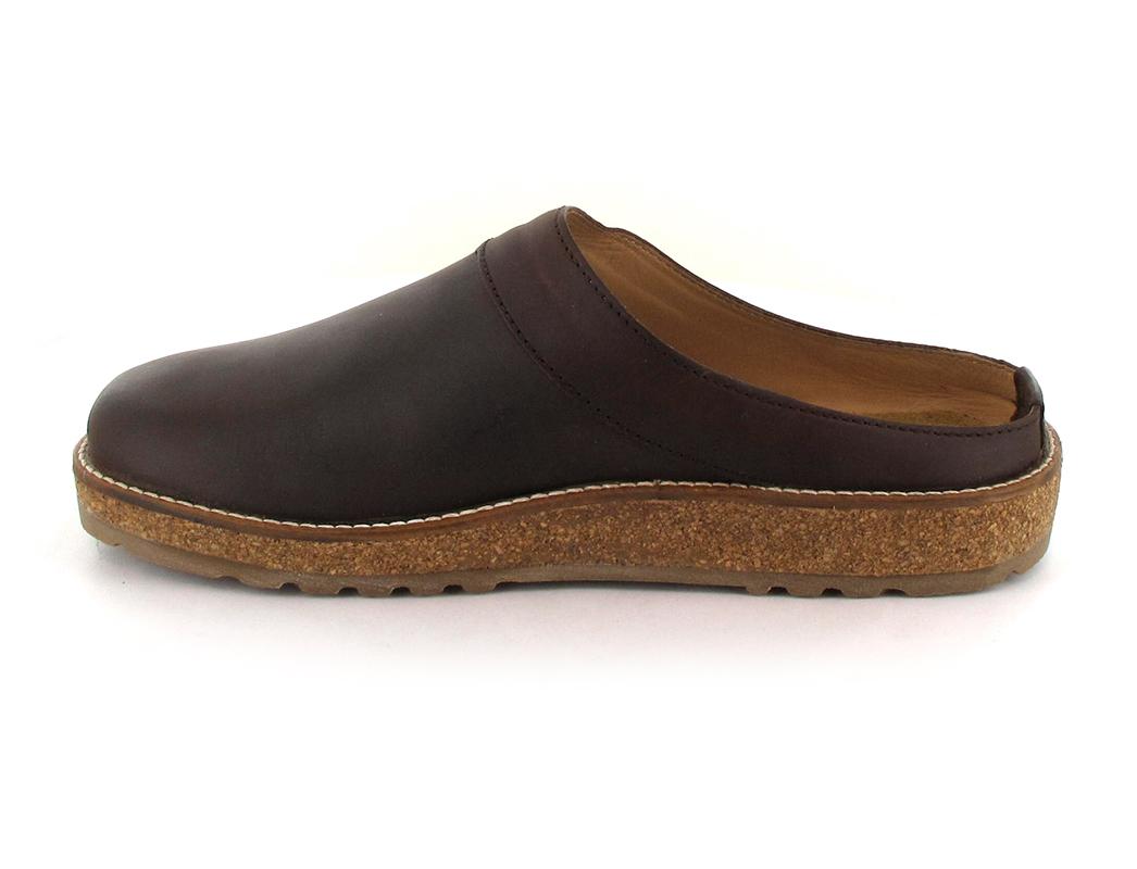 Unisex Leather Clog Travel Classic