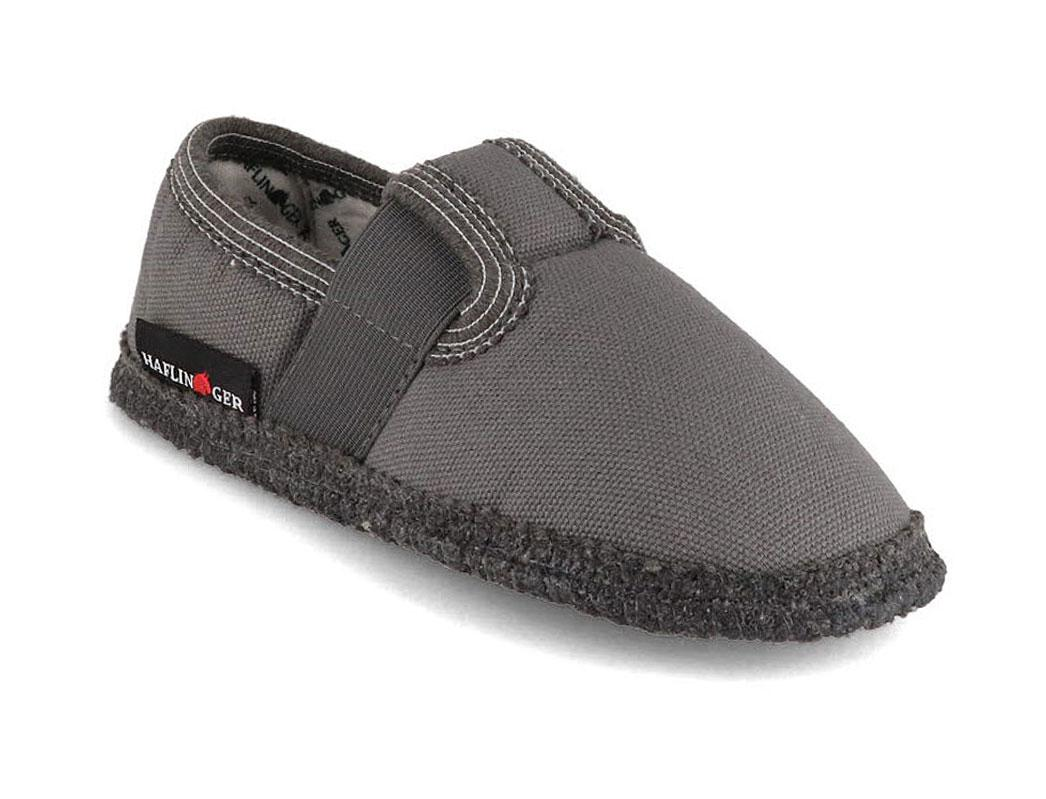 HAFLINGER® Kids Footwear Slippers | Uno, Grey